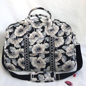 """ Rare"" Grand Camellia Cotton Weekend/Travel Bag"